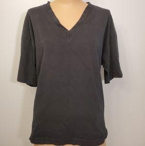 Vintage Signal MADE IN USA V-Neck Black T-shirt
